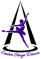 Image of the Center Stage Dance logo